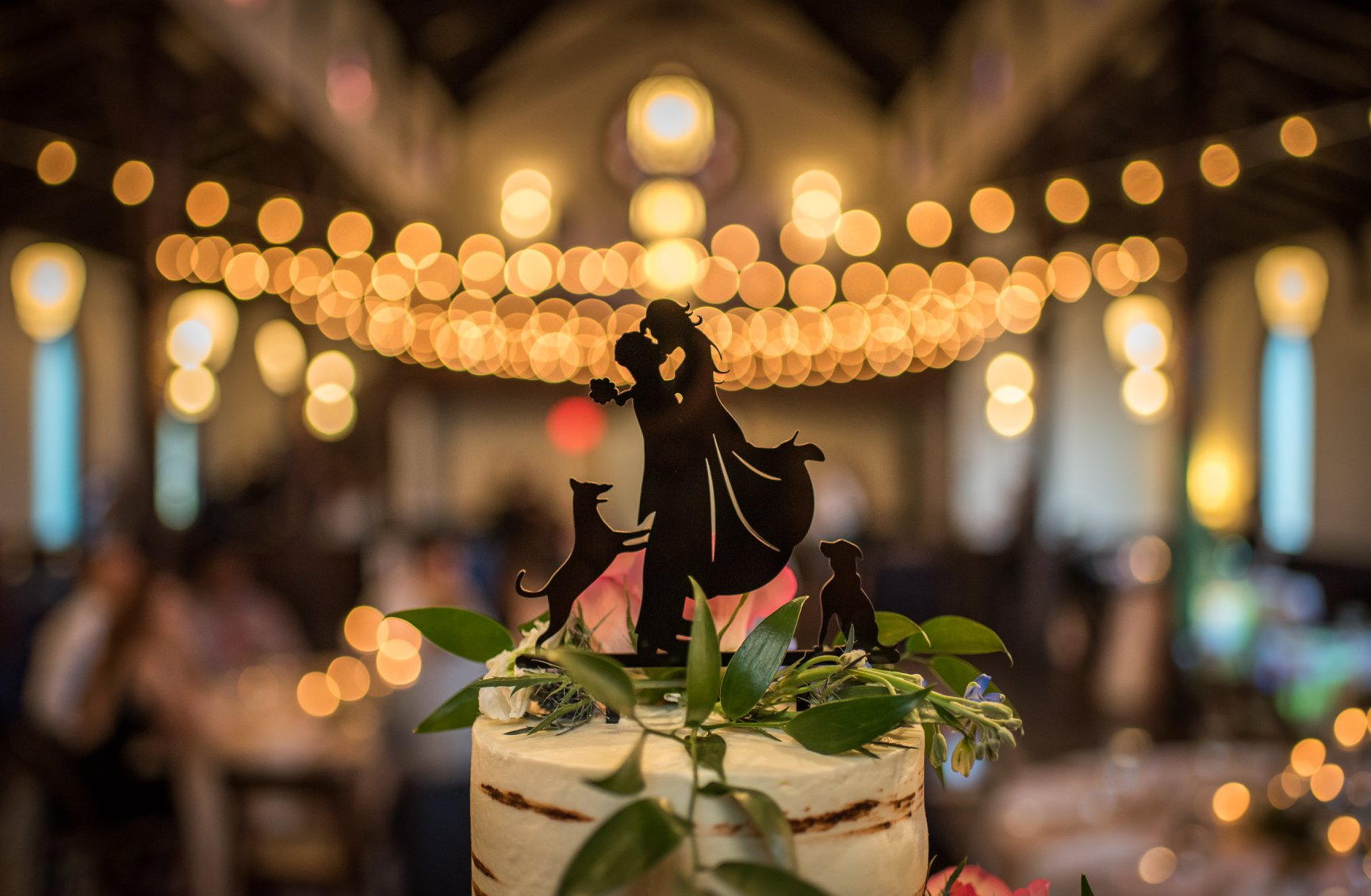 Silhouette Cake Topper in Raleigh NC.jpg