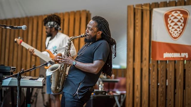 Covered Zoocrü(@zoocruofficial) at the Sertoma in Bond Park last night, for The Pāpur(@thepapur). . . The show was presented by PineCone(@pineconenc). . . #zoocru #jazz #avantgarde #blues #hiphop #jam #pinecone #livemusic #supportlivemusic #durhamnc #band #hbcu #carync #raleighnc #ncphotographer #thepapurIG #apexnc #chapelhill #hollyspringsnc