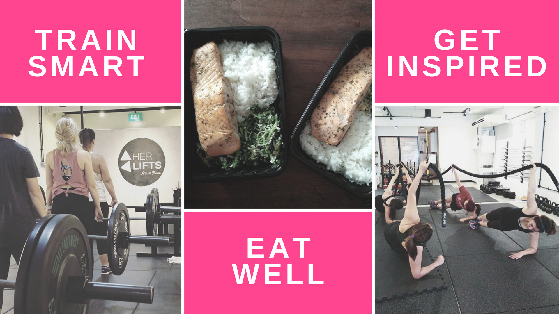 Female Strength Training, Meal Plans & Guidance, and Female Fitness Community.