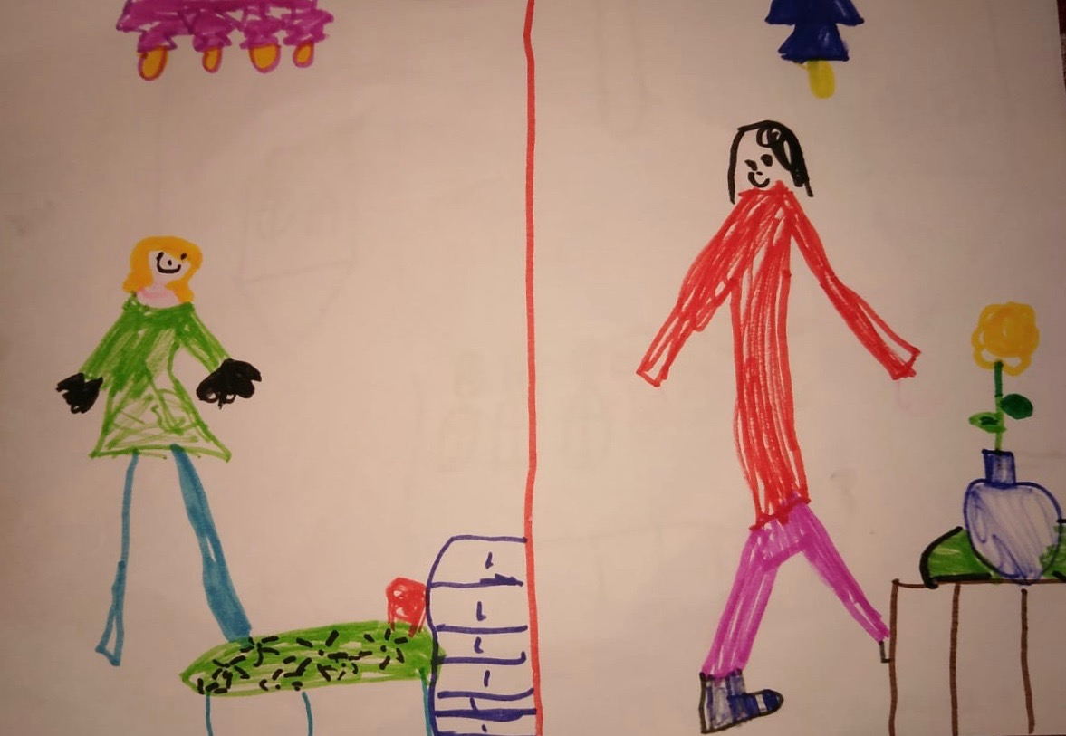 Anna, 8 years, from Campiglia