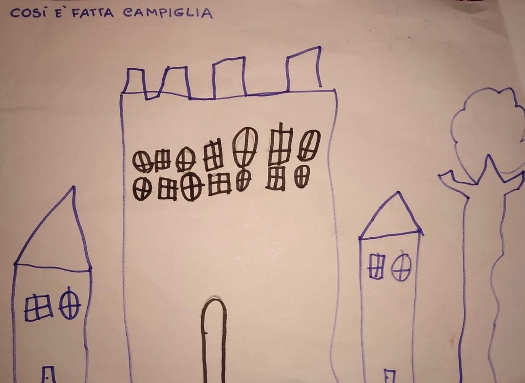 Emilio, 5 years, Campiglia, Italy