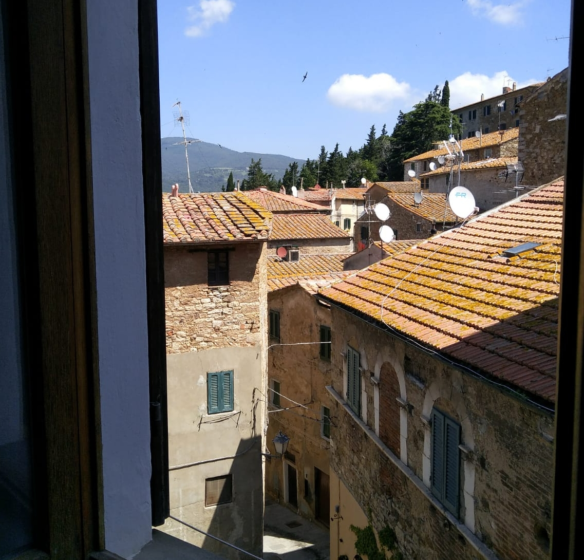 above the roofs of campiglia - Great view