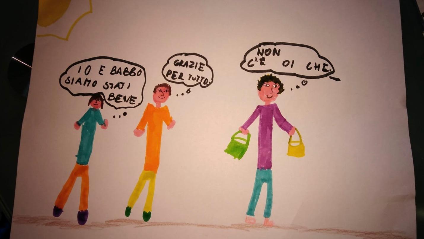 Anna, 8 ans, sur le bonheur d'habiter à Campiglia
