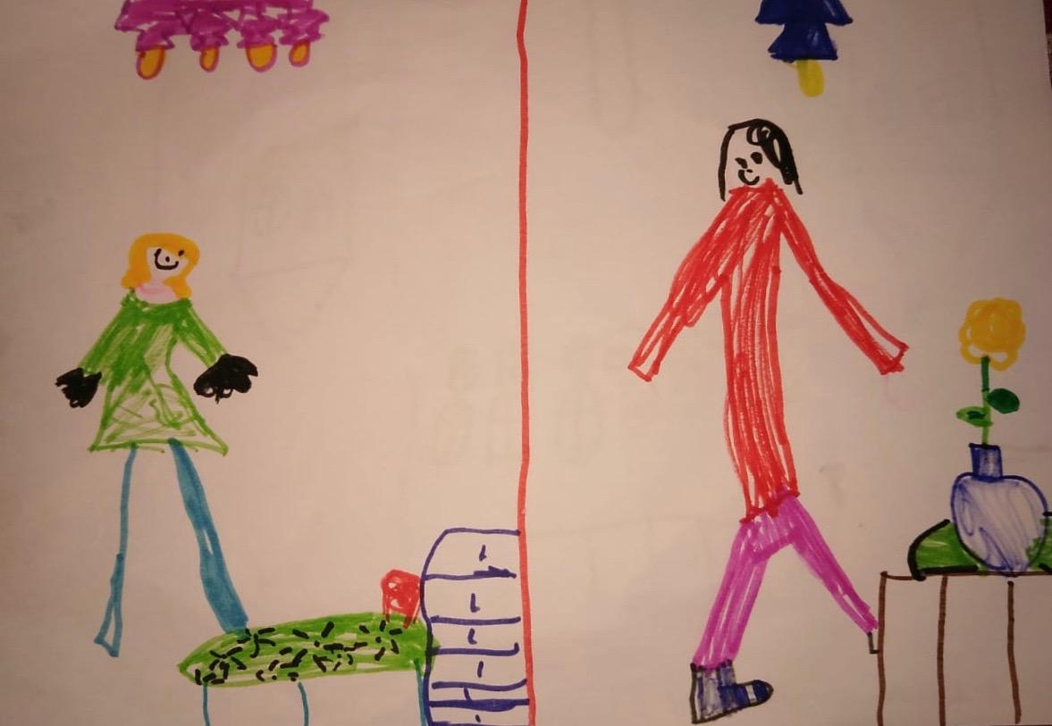 Anna, 8 ans, vit à Campiglia