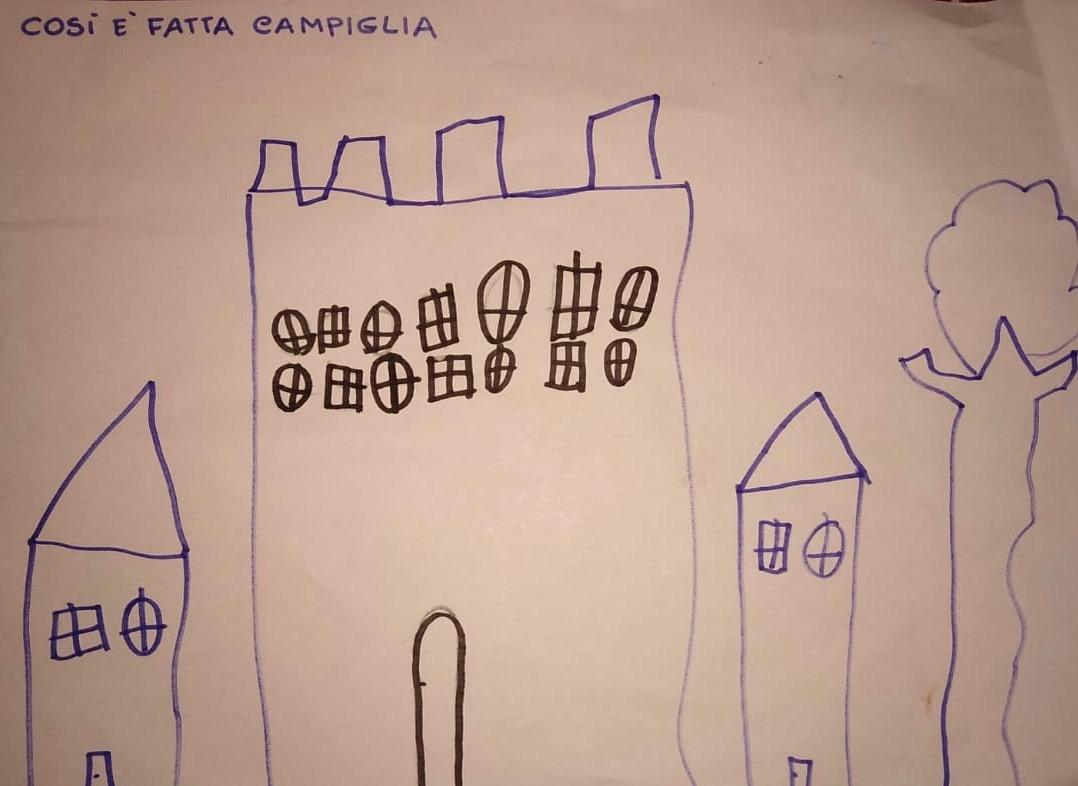 Emilio, 5 ans, vit à Campiglia