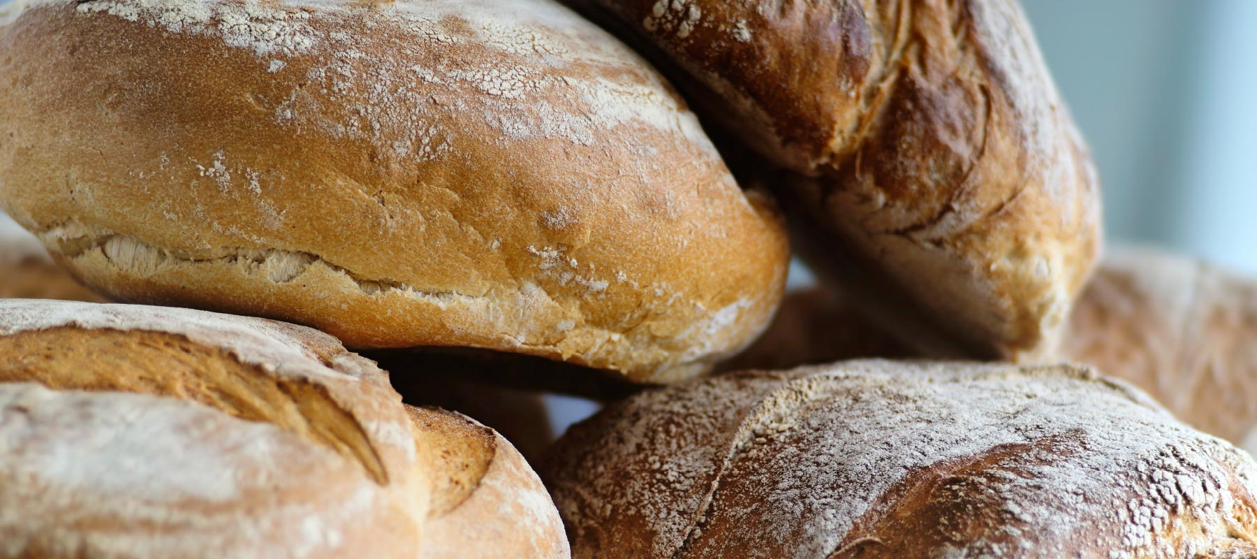 Bread - Rustico and Mafra, baguettes, wholemeal and plenty more