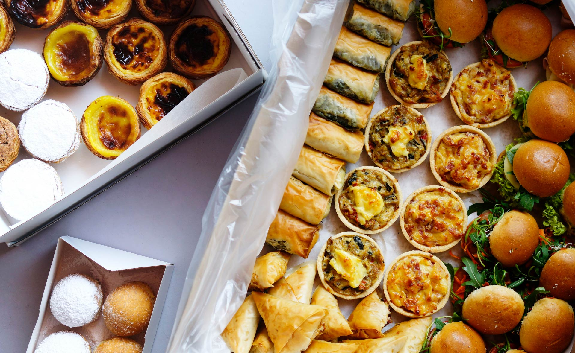 Bekarei Catering - Portuguese-Greek Fingerfood Catering