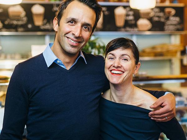 George Andreadis und Paula Gouveia, Founder