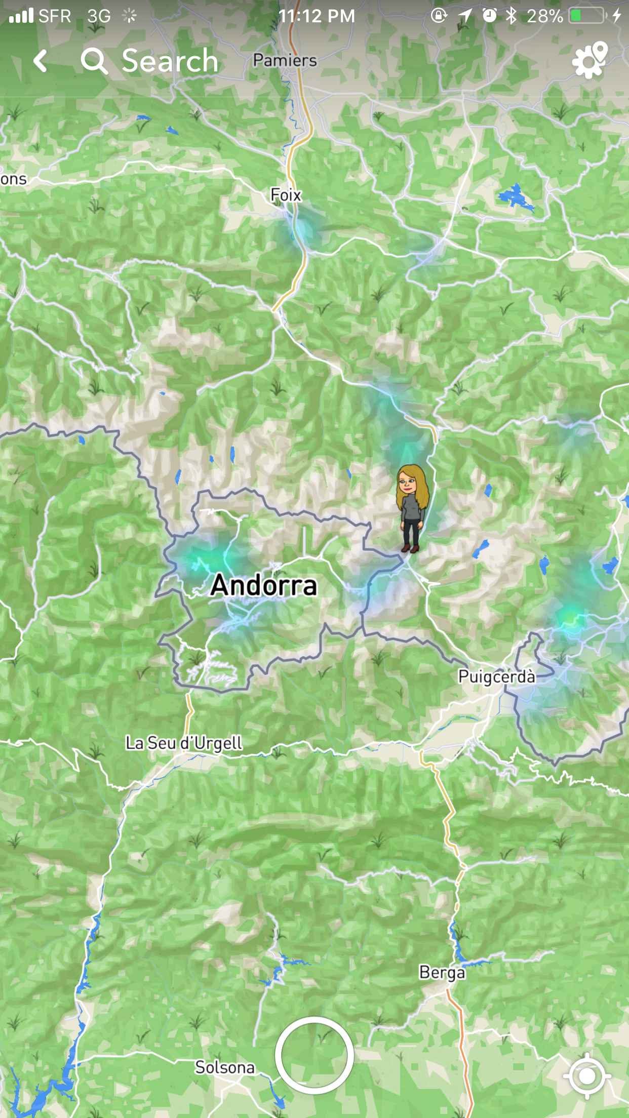 I was only a few kilometers away from Andorra.