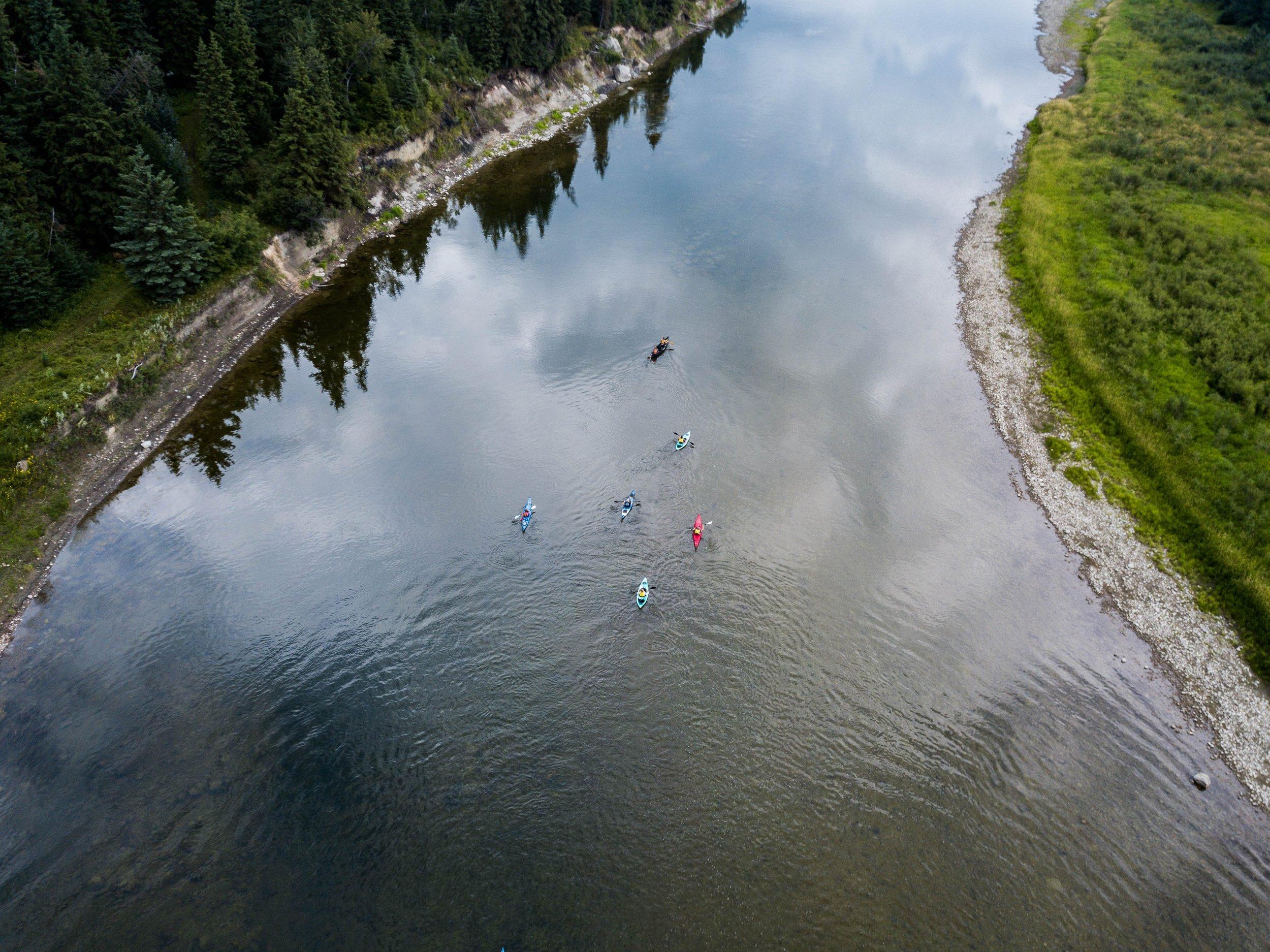 Seapoint canoe centre chartham river trip.jpg