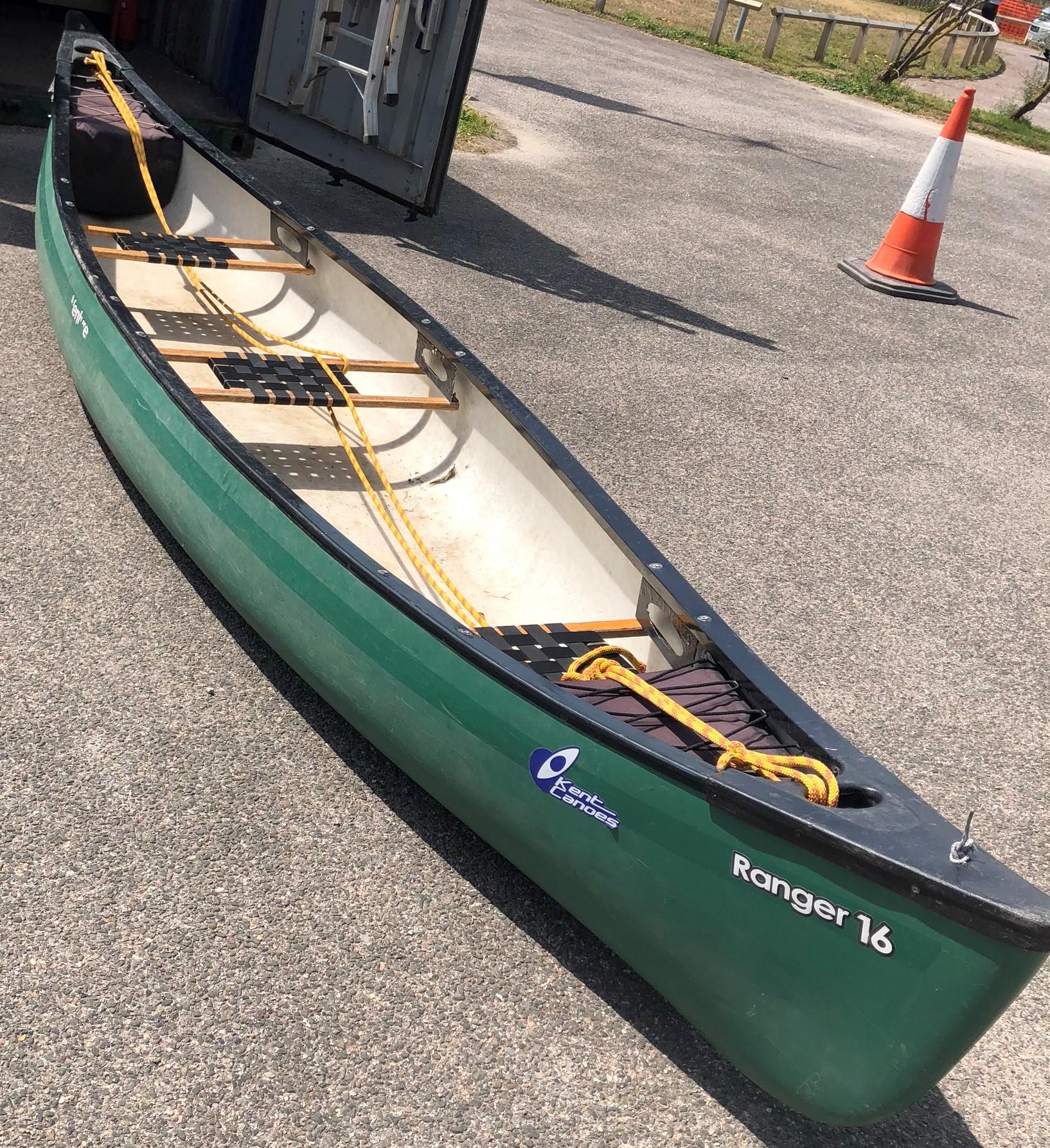 Canoe 3-Seater (Open Canoe)