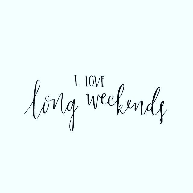 I certainly do. An extra day of RnR goes along way! Enjoy! 😘