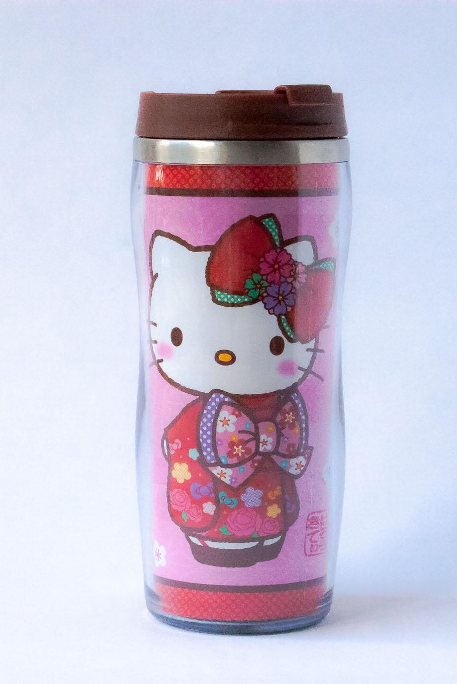 Hello Kitty Kimono Thermos Travel Mug