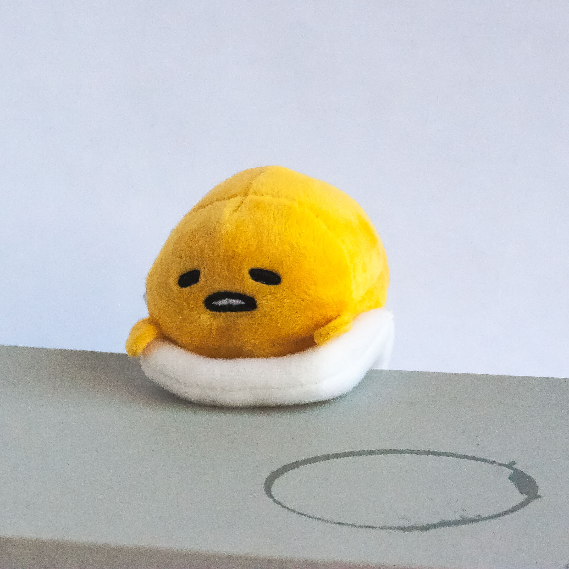 Gudetama Hanging Mascot Plush
