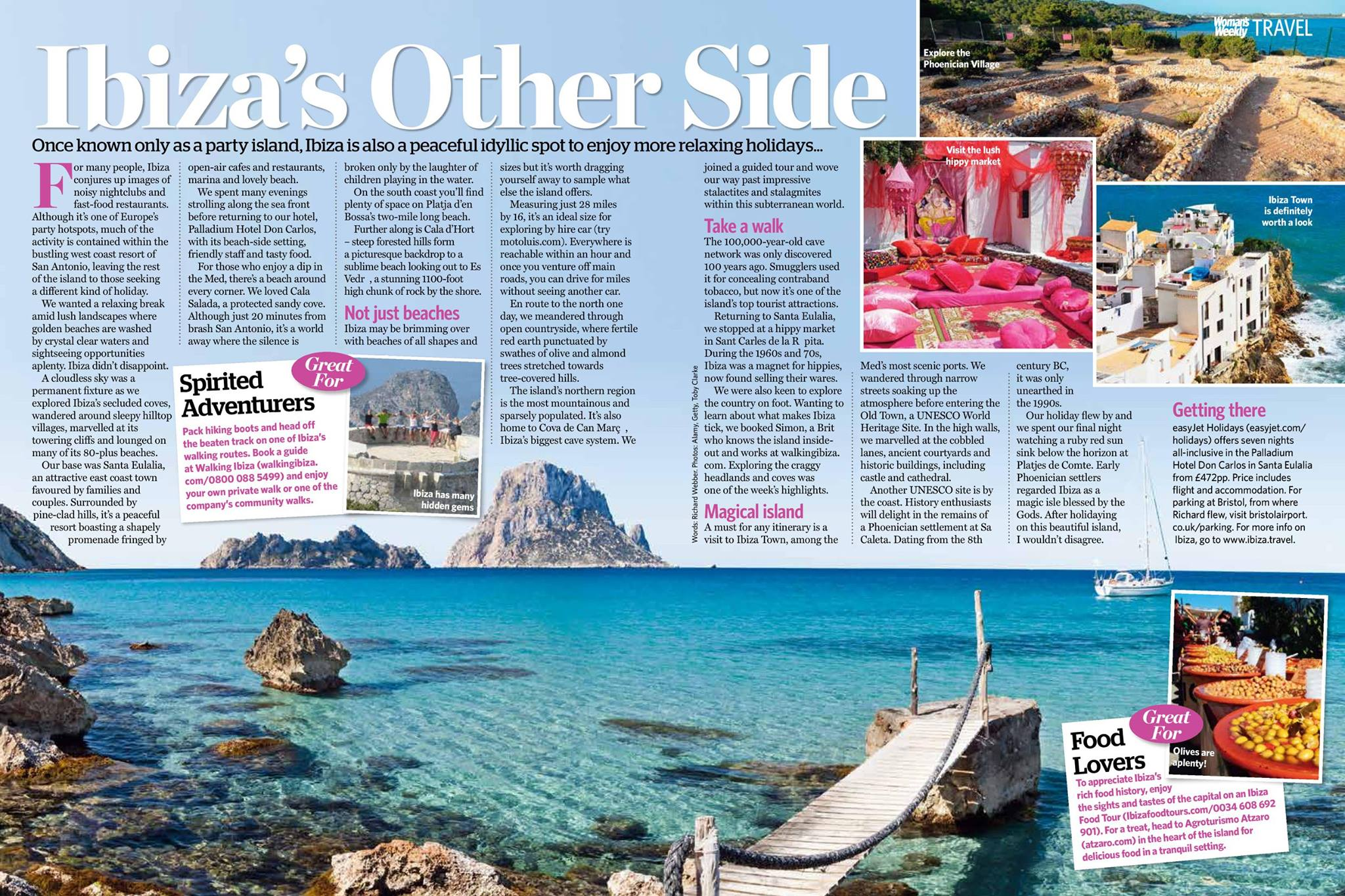 Ibiza's Other Side - Woman's Weekly