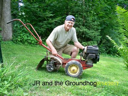 JR and the Groundhog