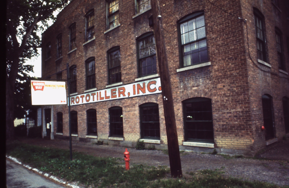 Rototiller factory in Troy