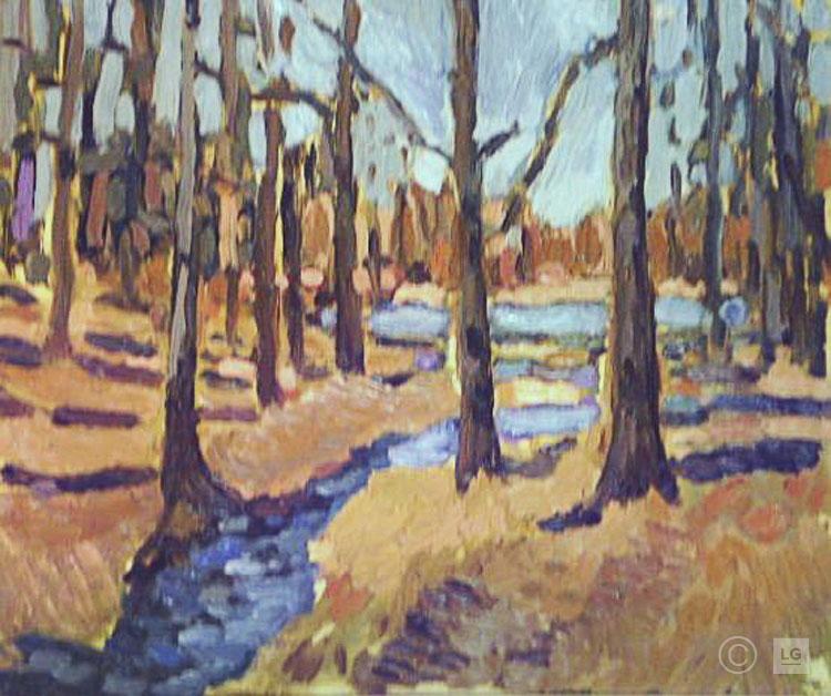 Late Winter Landscape
