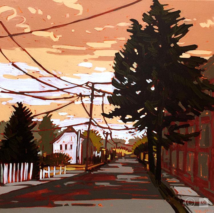 *SOLD* Urban Sunset