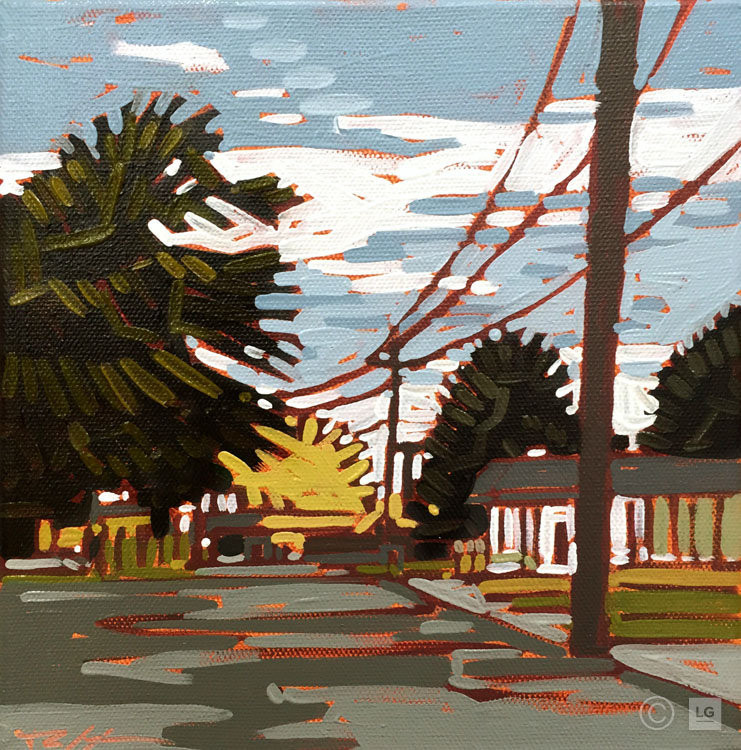 *SOLD* Crossing Streets