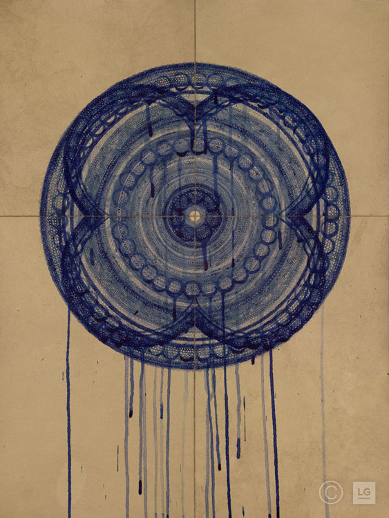 Sisyphus in Blue VI - #MCV84Custom SizesMinimum Print Size: 30
