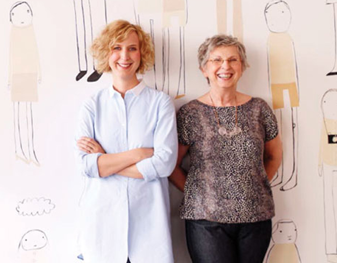Shelly kleink studio - Mother/daughter team Shelly and Mary Klein founded k studio in 2004 with a clear direction: To share Shelly's knack for delicate linear patterns and her ever-growing menagerie of richly evocative characters with as many people possible. Every k studio product starts as a canvas for these ideas, and each is manufactured to the highest standards for consistent quality, exact finishing and true sustainability.