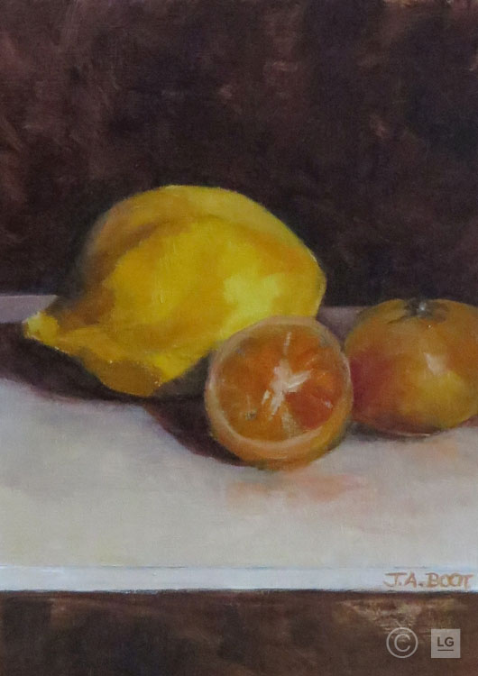 Lemon with Clementine