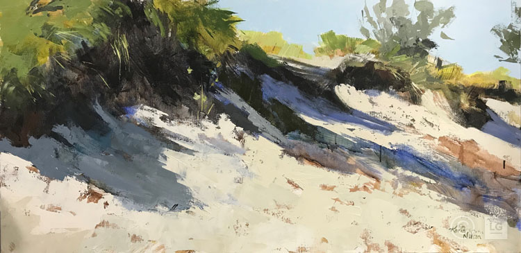 Dunes in Late Sun
