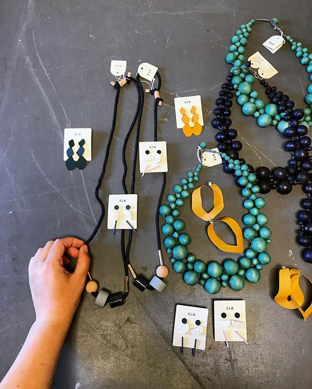 New jewelry from @elkthelabel in the boutique this week! These beauties won't last long, so grab them quick!⠀ ⠀ .⠀ .⠀ .⠀ .⠀ .⠀ .⠀ .⠀ .⠀ .⠀ .⠀ .⠀ .⠀ .⠀ .⠀ .#elkthelabel #summerwithELK #sustainablefashion #ethicalfashion  #accessories #handmadejewelry #bohochic #boholuxe #lafontseeboutique #chunkystones #chunkyearrings #rusticjewelry #boutiquejewelry #styleinspo  #trends #gypsyearrings #ilovehandmade #pursuepretty#uniquejewelry #bohostyle #makersofinstagram #statementearrings #chunkyjewelry #grandrapids #grandrapidsblogger #earrings