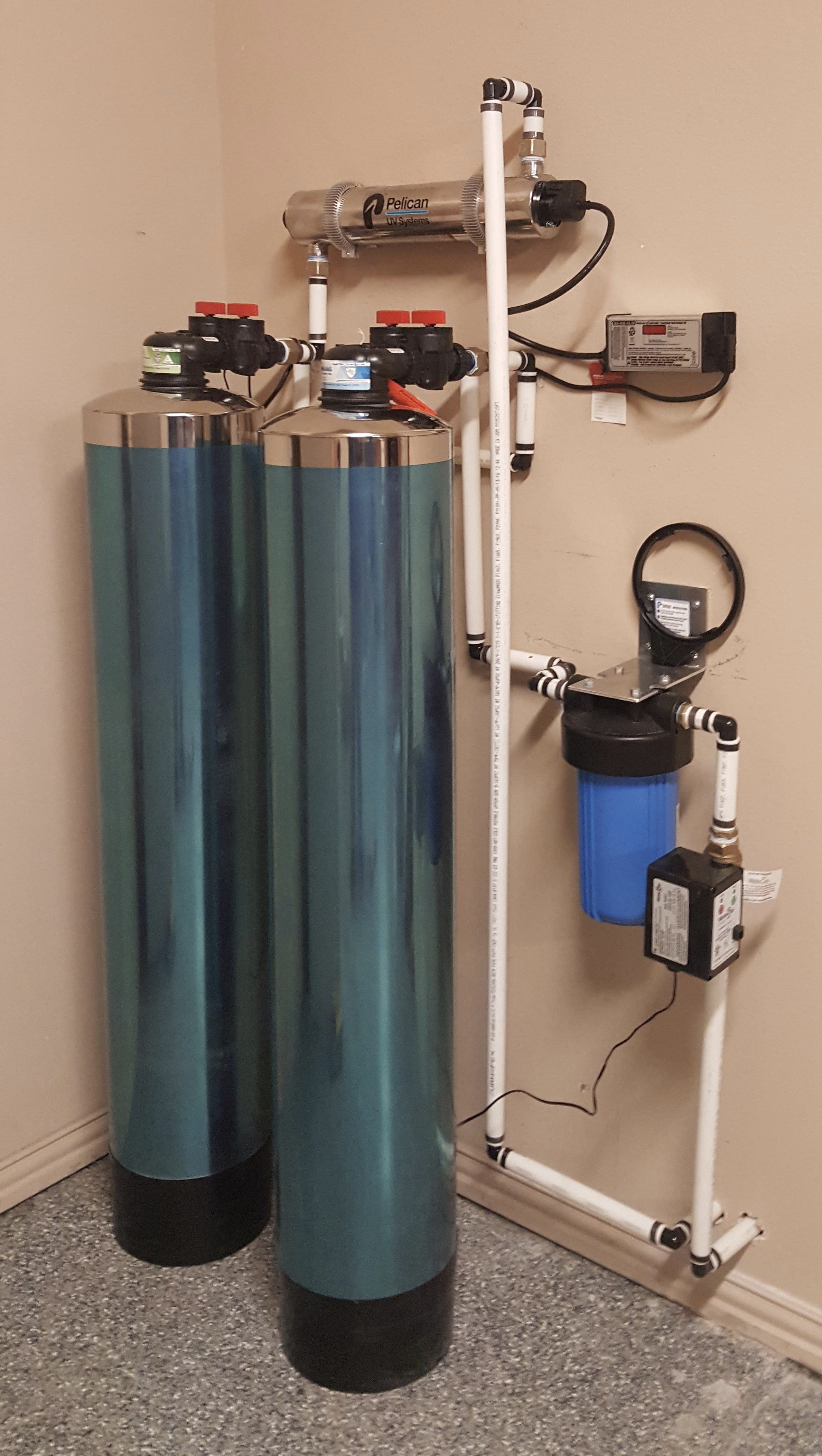 WHOLE HOME FILTER W/ ANTI SCALE & ULTRA VIOLET FILTRATION