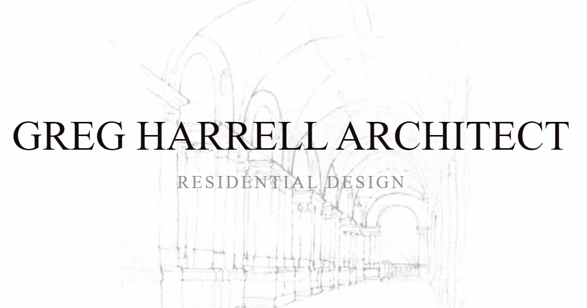 Greg Harrell, Architect -