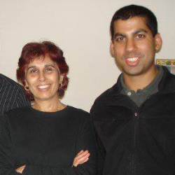Dan Dasilva (pictured  with his mother)