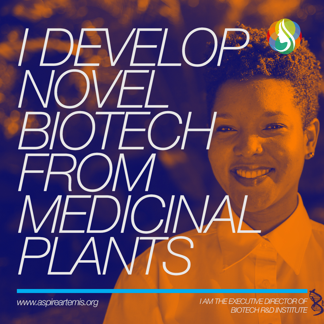 Aisha Jones   I probably have the #bestjobever. I work with an awesome team of scientists and institutional partners in developing innovative products, such as pharmaceuticals, cosmeceuticals and functional foods from plants found on the beautiful island of Jamaica. Like our people and culture, our island's biodiversity is like no other. At Biotech R&D Institute we use advanced biotechnological methods to validate the medicinal properties of these plants and then translate our research into products that are safe and effective.  As a young woman and mother of three #amazingdaughters, professional and personal life is a balancing act. Jamaica, relatively speaking, is well documented for female progression to the highest levels of leadership. But there is still much to be done, especially in the area of STEAM.  And although a path less travelled for women of African descent living on a small island, I sincerely believe that STEAM has given me an amazing opportunity to contribute to my family, my community, my country and hopefully - one day - the world. I am honoured to #payitforward and support women AND men as they chart their own journeys in STEAM.  Aisha Jones is the Executive Director of Biotech R&D Institute in Jamaica.  #STEAMwork #WomenGainingSTEAM #AspireArtemis #changemakers #youth #womensempowerment #education #doers #empowerfutureleaders #trailblazers #science #engineering #womenintech #gamechanger #womeninscience #innovation #tech #technology #stem #stemeducation #stemgirls #womeninsteam #strongwomen #inspiringwomen