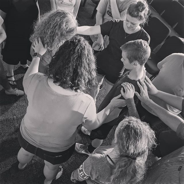 Praying over the LaVeres as they set out to Greece next month! Excited to see what God does in and through these young people. #RSM