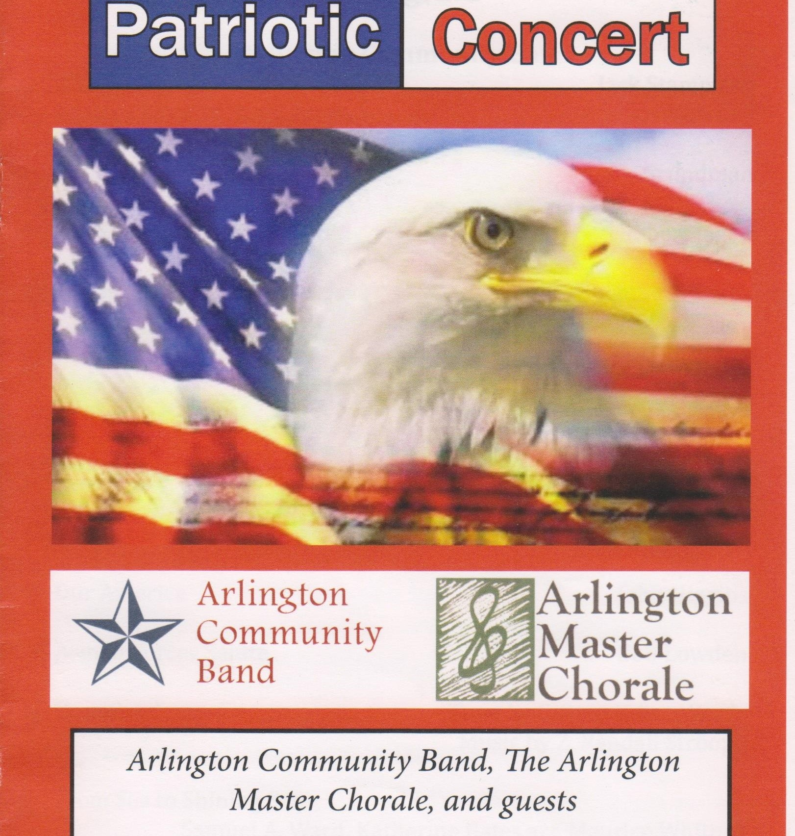 A free concert for all featuring the Arlington Community Band and guests of the Arlington Master Chorale.  Such favorites as Yankee Doodle, God Bless America, and Battle Hymn of the Republic.