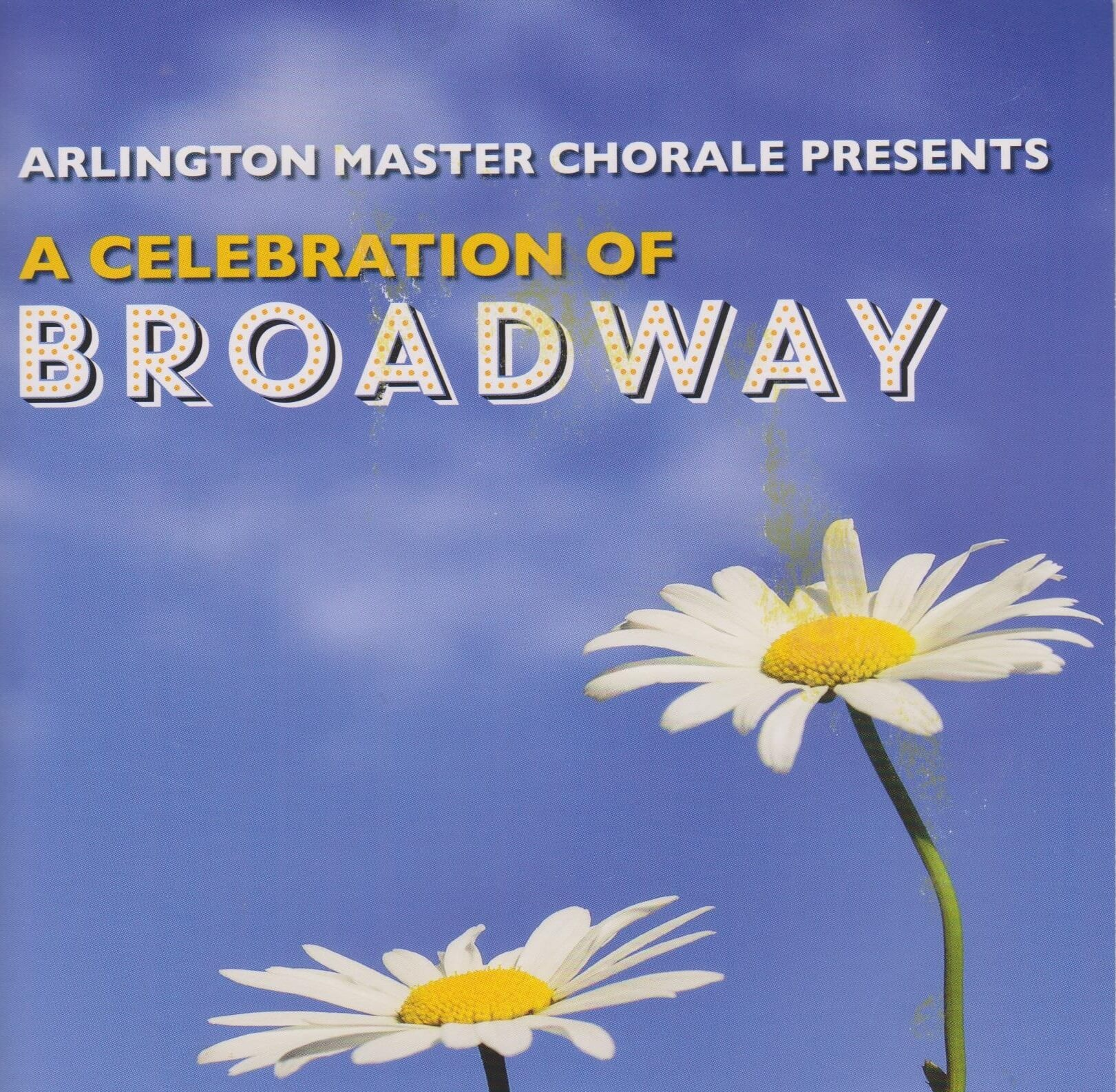 """A fun collection of Broadway favorites from Sweet Charity, Funny Girl, South Pacific, and more with the Arlington Master Chorale and our own """"Fling Combo"""" instrumentals."""