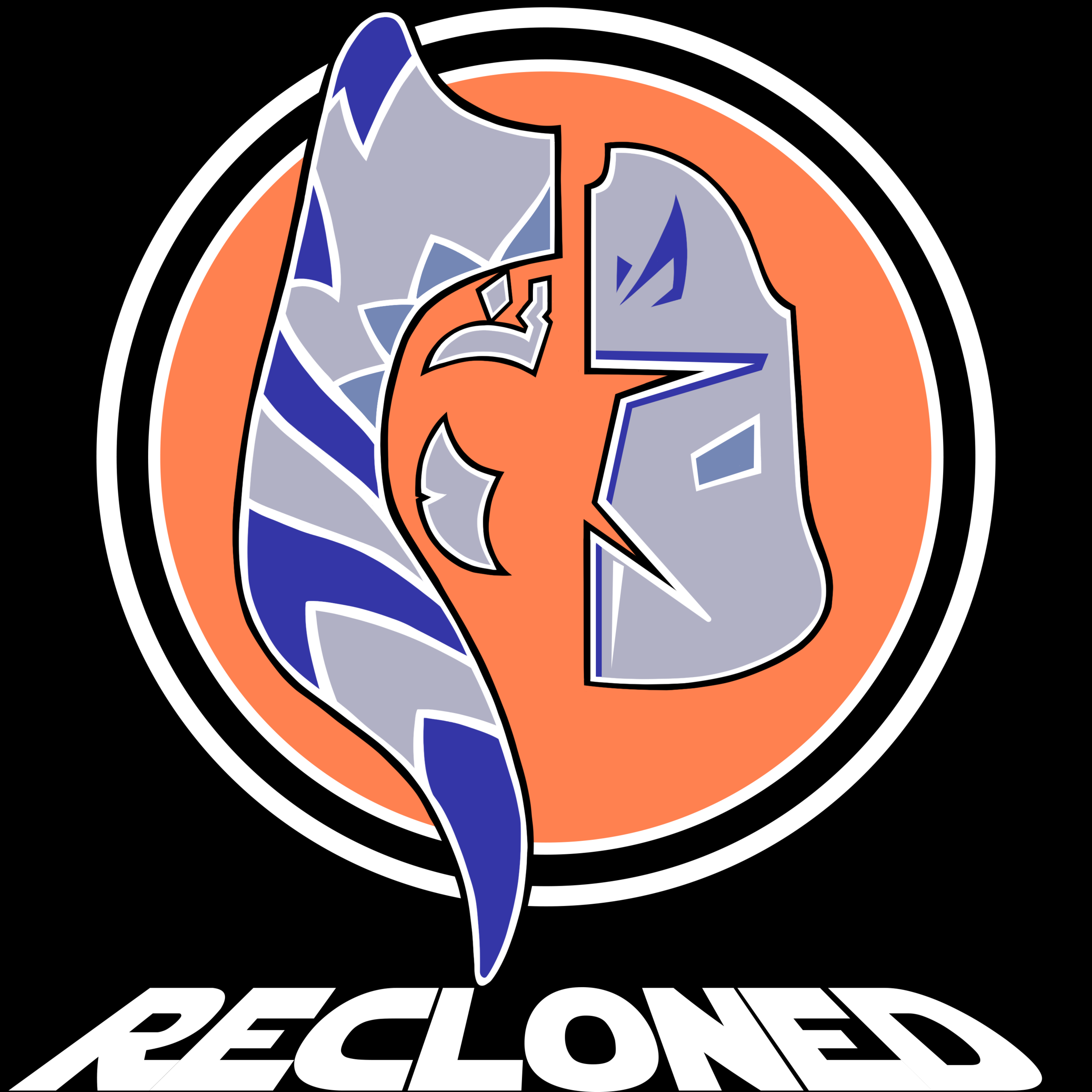 Logo for the podcast RECLONED