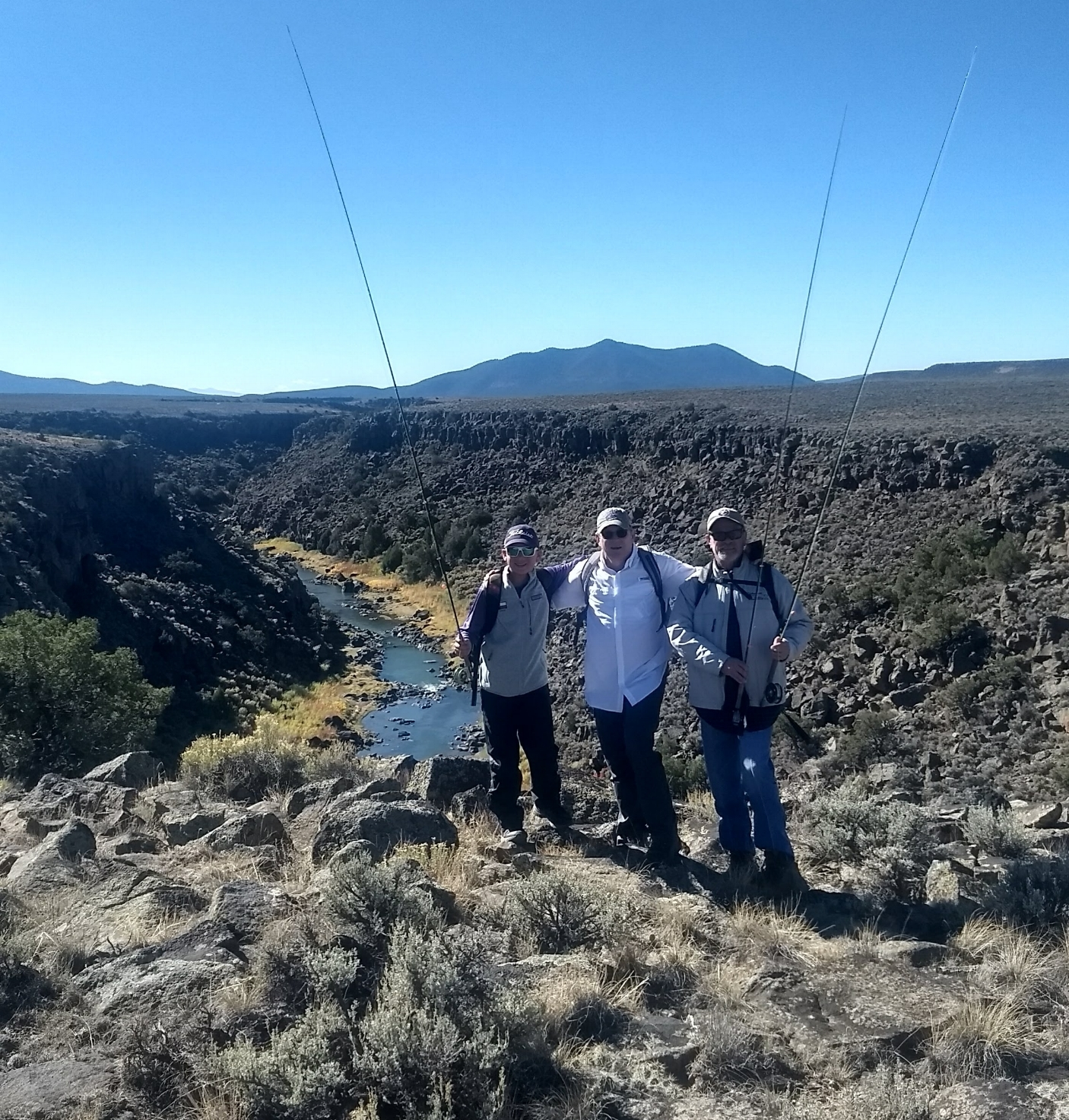 Rio Grande - Ute Mountain with the Hertels