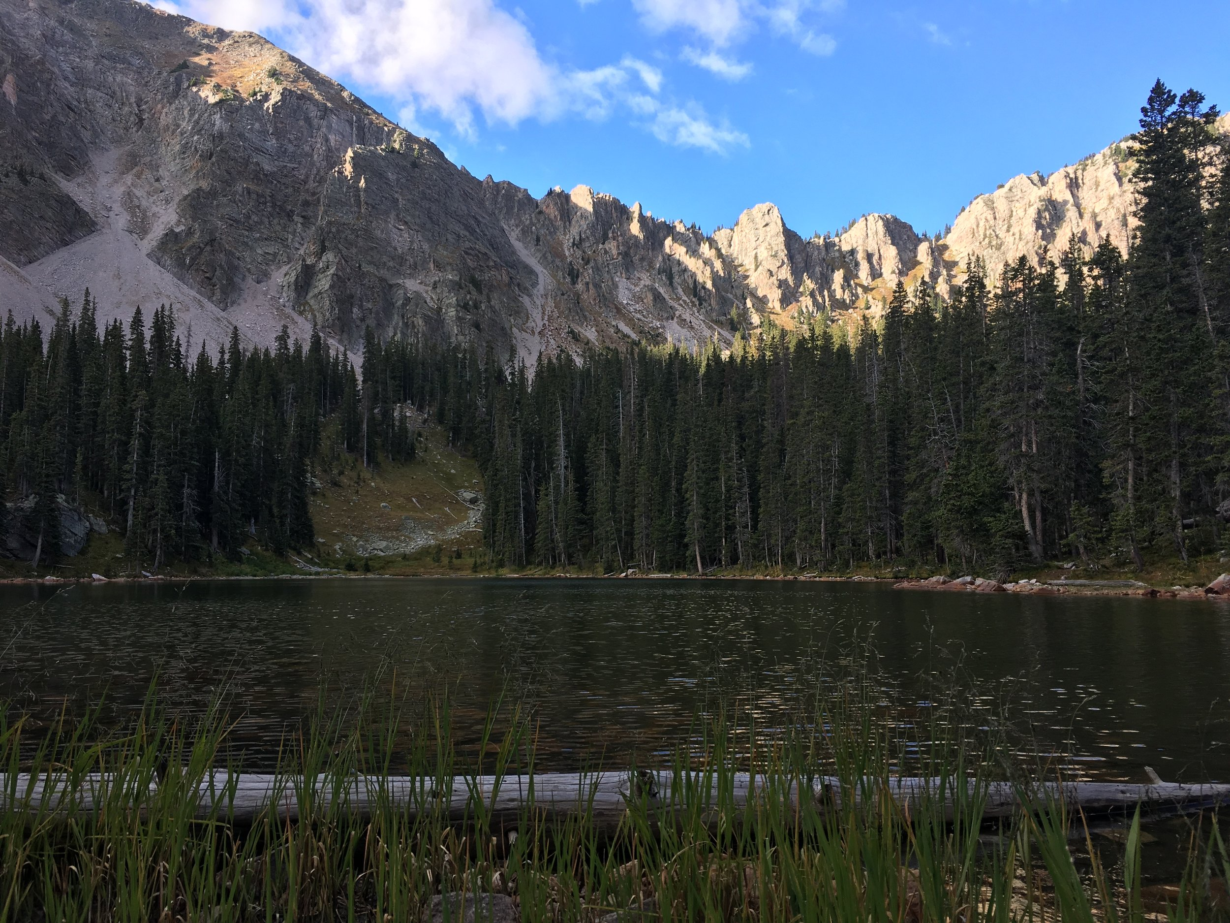 Fly Fishing - Alpine Lake