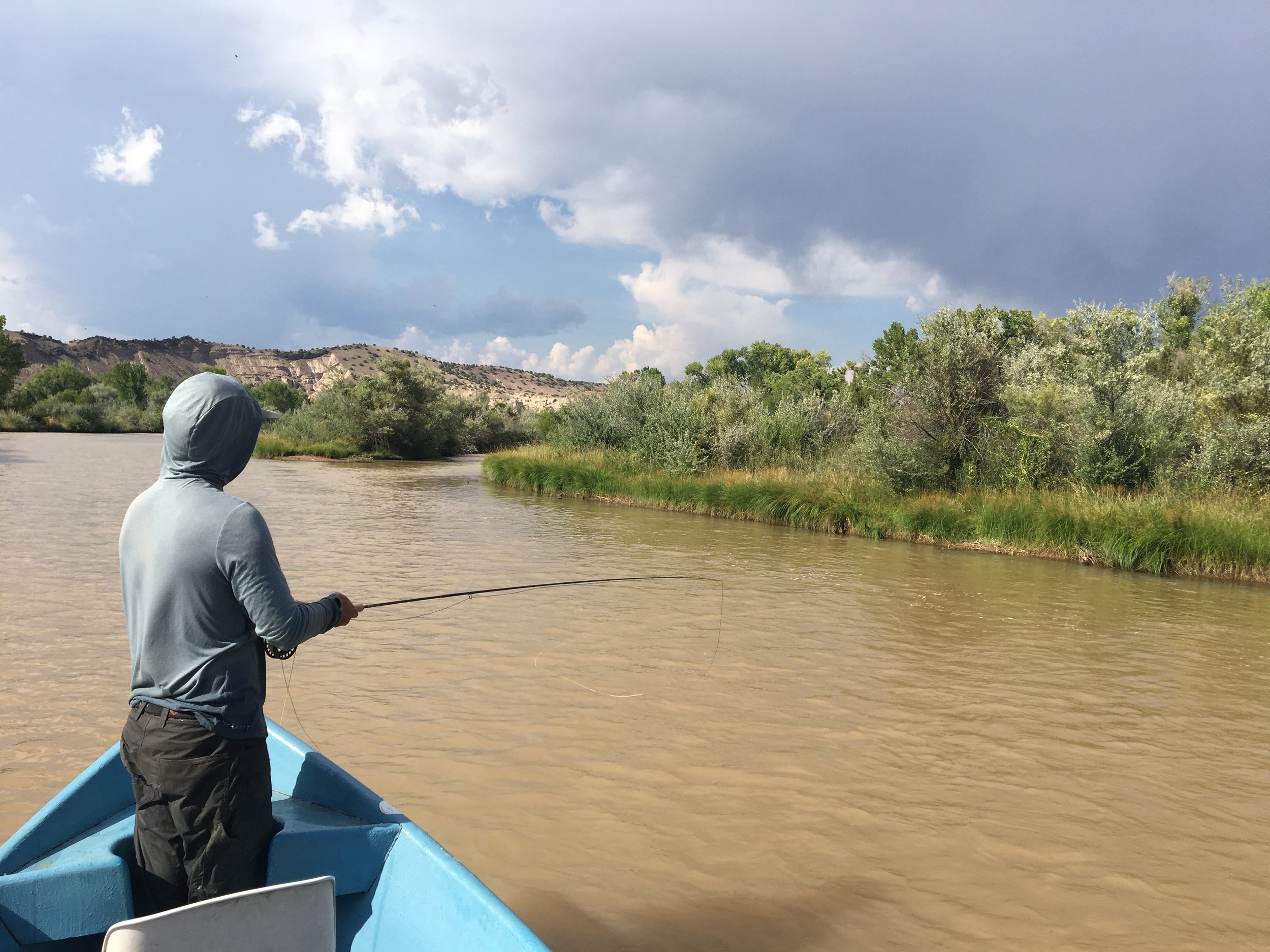 Fly Fishing and Floating The Chama River