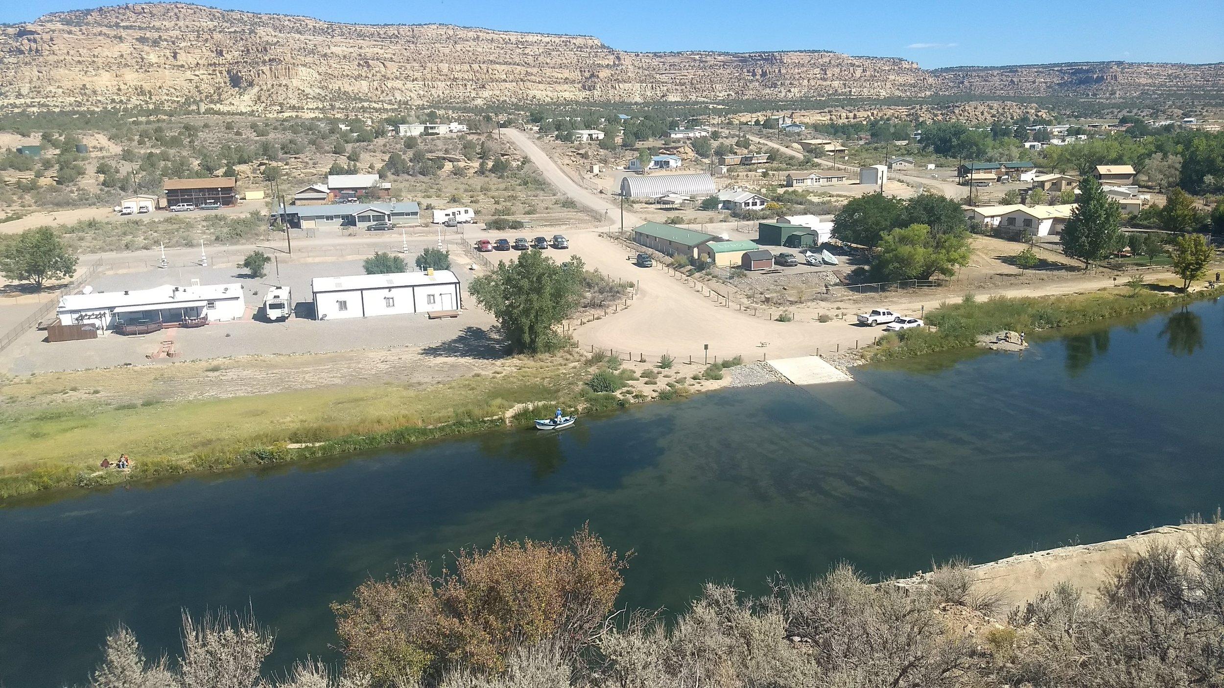 Navajo Dam, New Mexico