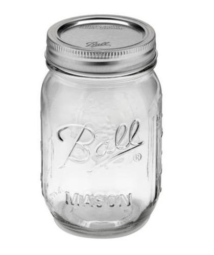 Ball Mason Jars, 16 oz