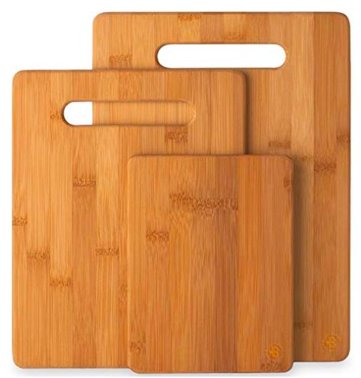 Bamboo Cutting Boards, 3 set