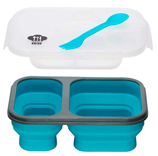 Silicone Collapsable Lunch Box