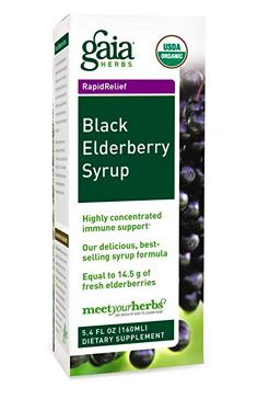 Gaia Elderberry Syrup for Immunity