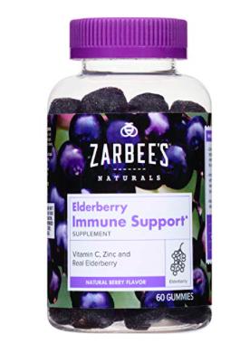 Zarbee's Elderberry Immune Support