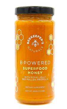 BeeKeeper's B-Powered Superfood Honey