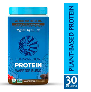 SunWarrior Chocolate Protein Powder Assorted Flavors