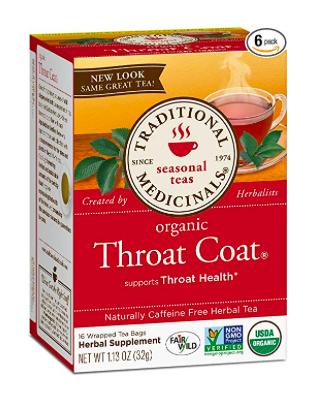 Traditional Medicinals Throat Coat