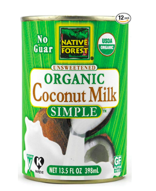 Native Forest Coconut Milk Simple 12 Pack (No Guar Gum)